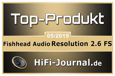 Fishhead Audio Resolution 2.6 FS im Test Hifi-Journal