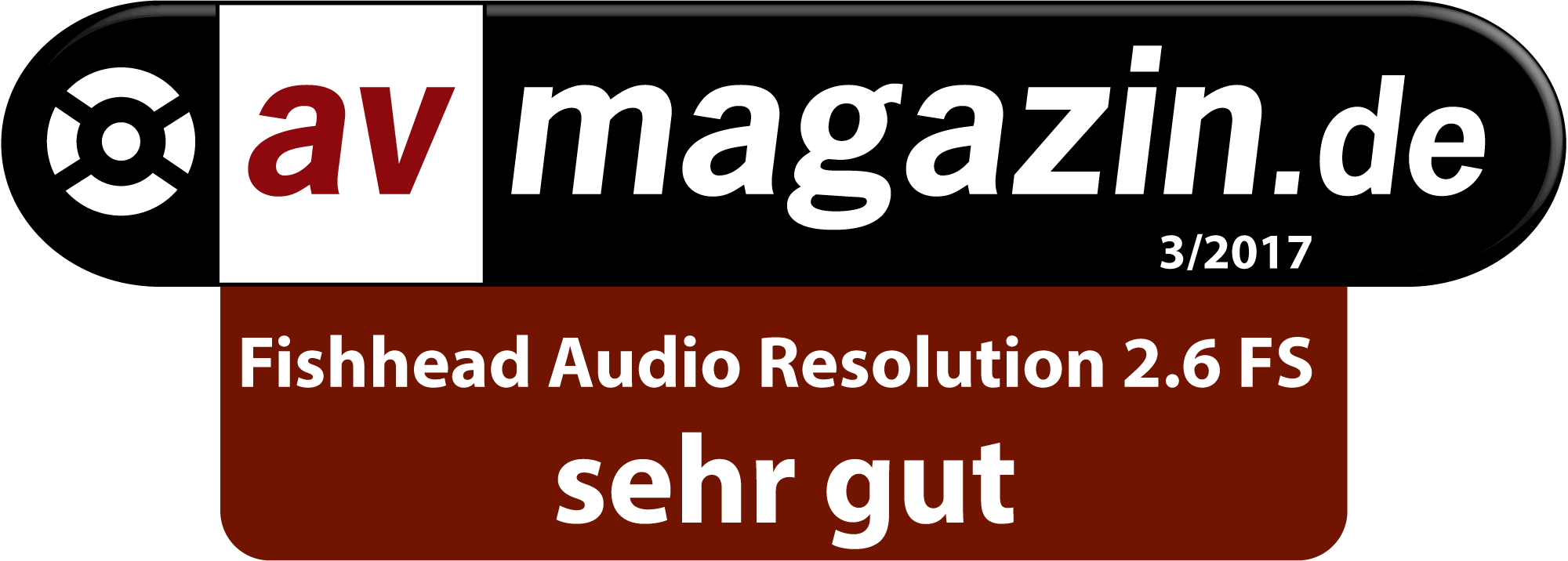 Fishhead Audio Resolution 2.6 FS Lautsprecher im Test: AV Magazin - sehr gut