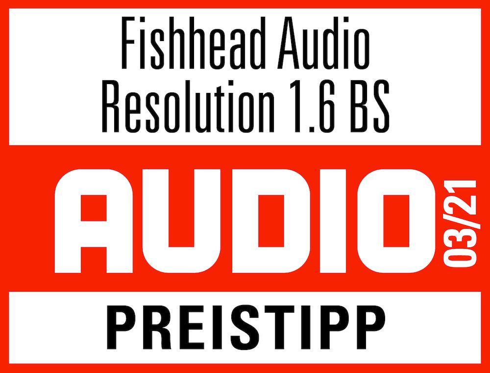 Fishhead Audio Resolution 1.6 BS Lautsprecher im Test: Audio Preistipp